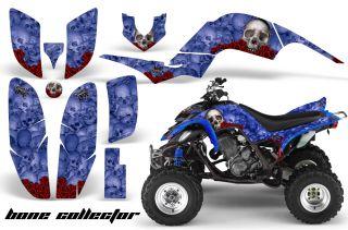 AMR Racing ATV Quad Graphic Sticker Kit Yamaha Raptor 660 Part Free US Shipping