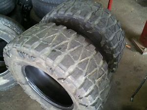 2 35x12 50x18 Nitto Mud Grappler Tires 35x12 50R18 M T 35 inch 12 50 18 Toyo