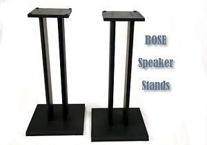 1 Pair Bose 301 Speaker Stands Universal Bookshelf Black