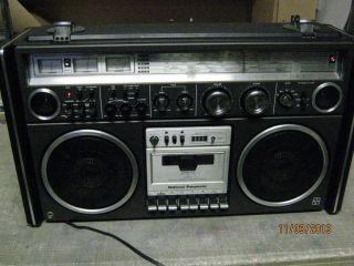 National RS 4360DFT Panasonic Ghettoblaster Boombox