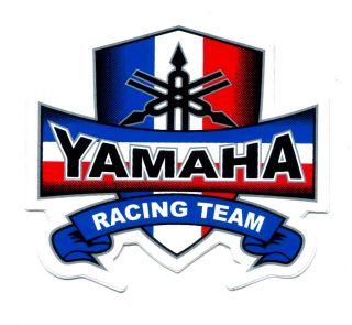 Yamaha Racing Car Motorcycle Bike Fuel Tank Sticker G97