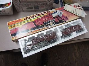Lionel 6 8101 Chicago Alton Locomotive Engine Tender w Orig Box