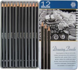 Drawing Board Set with Strathmore Pad Pentalic Pencils Walter Foster Book