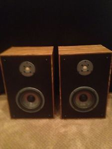 Vintage Infinity Reference Bookshelf Speakers RS9 Polycell Tweeters