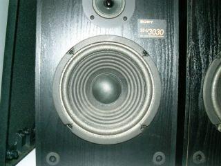 Sony SS U3030 Bookshelf Speakers