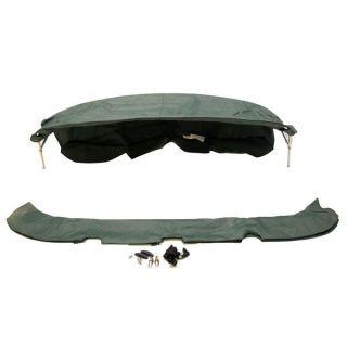 Custom 94 inch Hunter Green Boat Wakeboard Bimini Top