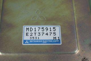 92 94 Mitsubishi Montero 3 0L V6 ECU ECM Engine Computer Control Unit MD175915 B