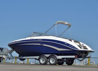2012 Yamaha 242 Limited 21 Hours Bowrider Deck Jet Ski Wake Board Boat Look