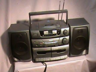 Vintage RCA RP 7954 Boombox CD Cassette Player Am FM Stereo Radio
