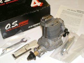 RARE OS FS 91 Surpass 4 Stroke Model Engine