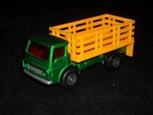 Vintage Lesney Matchbox No 71 Cattle Truck 1976