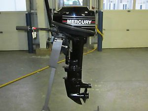 "1992 Mercury Marine 8 HP Outboard Boat Engine Motor Long Shaft 20"""