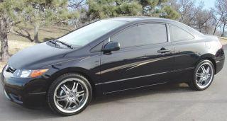 Talon Premium Vinyl 8 Year Decal Stripes Graphics New for Honda Civic