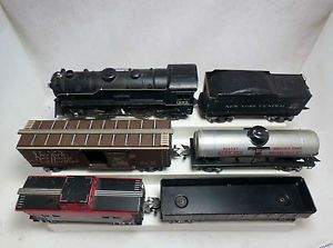 Marx Train Set with 999 Locomotive Cars Track Switch 709 Transformer