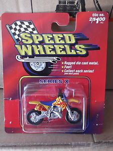 Maisto Speed Wheels Diecast Series x Dirt Bike 8 NIP