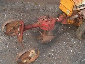 Rotary Plow Tiller for Gravely Walkbehind Tractor Gas Engine