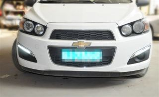 For 2011 Chevrolet Chevy Aveo LED DRL Daytime Running Light Fog Lamp Cover 2P