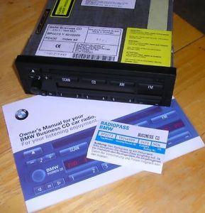 BMW Business CD Stereo Radio Z3 E30 E36 E34 E31 E28 328i 325i 525i 840CI M3 CD43