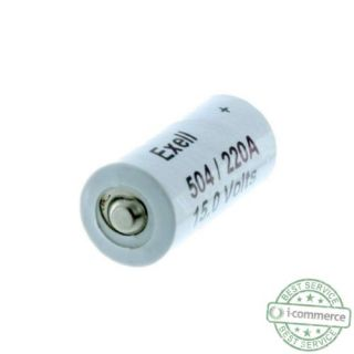 New Exell A220 504A Alkaline 15V Battery Neda 220 LR154 10F15 Long Lasting