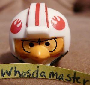 Star Wars Angry Birds Series 1 6 Luke Skywalker Hoth Pilot Bird Mini Figure New