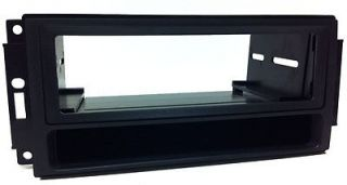 Dodge Radio Dash Kit Single DIN Install Stereo w Pocket Faceplate DG64PK