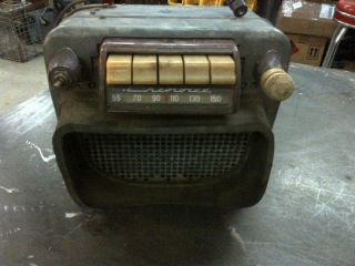 1947 1953 Chevrolet Truck Radio Working Rat Rod Restoration