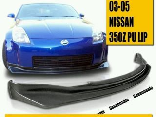 03 05 Nissan 350Z Z33 Type NIS Front Bumper Chin Lip Spoiler