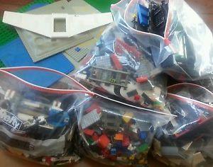 Large Lot Loose Lego Building Blocks 20 lbs Planes Trains Base Plates More