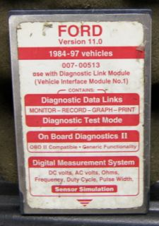 Ford Dealership NGS New Generation Star Tester Scan Tool Scanner Accessories