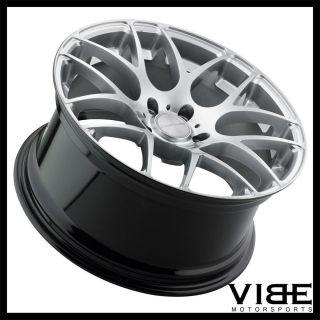 """19"""" Avant Garde M310 Silver Concave Wheels Rims Fits Nissan 350Z 370Z"""