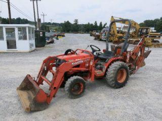Kubota B7500 4x4 Tractor Loader Backhoe 2090 Hours Hydro No Reserve