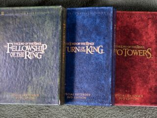The Lord of The Rings Trilogy Special Extended Platinum Series DVD