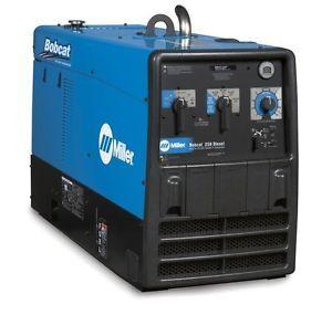 Miller Bobcat 250 DC Welder Generator w Kubota D722 Diesel Engine Save