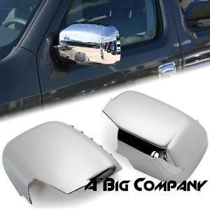 2006 2011 Honda Ridgeline Pickup Truck Chrome Side Mirror Covers Rear View Trim