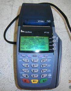 Verifone VX510 Credit Card Reader w Power Cord Model Omni 5100