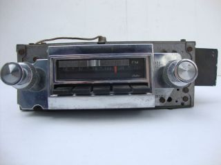 Factory Original GM 1966 Chevrolet Impala SS Caprice Belair Delco Am FM Radio
