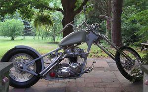 Harley Springer Fork Front End Parts Chopper Bobbber Rat