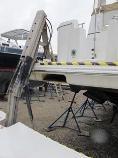 2005 Carver 44 My Cockpit Motor Yacht Cruiser Boat Project Diesel Engines 05