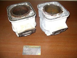 97 98 Sea Doo GTI 717 SeaDoo Engine Motor Crankcase Cylinder Piston Jug Twin Set