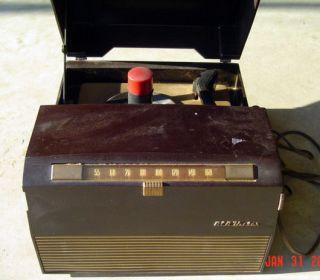 RCA Victor Victrola Radio Phonograph Record Player Bakelite Model 9Y 510