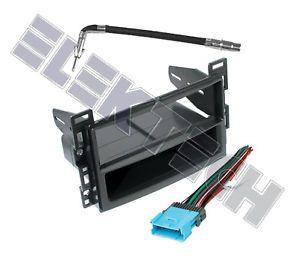 Chevy Malibu Radio Stereo Dash Mounting Kit w Harness