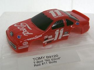 AFX Tomy HO Bill Elliott T Bird Slot Car Body AFX B9120