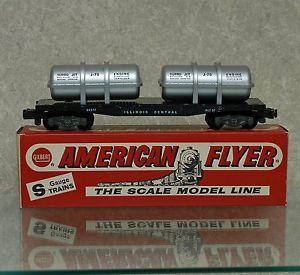 American Flyer 24577 Jet Engine Transport Car Mint w Box All Original
