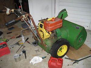 John Deere 726 Snow Blower Wheels Tires Drive Disk Transmission