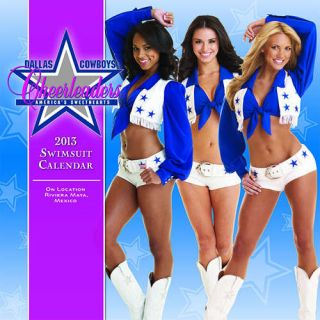 Dallas Cowboy Cheerleaders 2013 Poster Calendar
