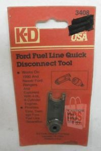 KD Tools 3408 Fuel Line Quick Disconnect Coupling Tool for Ford Ranger Explorer