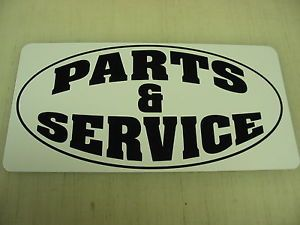 Parts Service Metal Sign Motorcycle Hot Rod Car Harley Shop Garage Ford Chevy