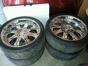 Asanti 24 inch Wheels AF131 with 305 35 24 Kumho Tires Forged 3 Pcs