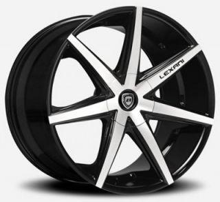 "20"" Lexani R7 Seven BM for Mercedes Benz Wheels Rims C s E CL CLK s ml Series"