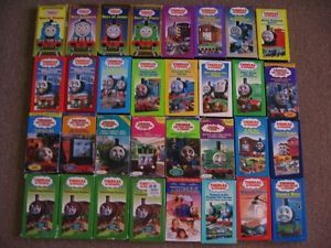 Thomas Tank Engine and Friends VHS Tapes Lot